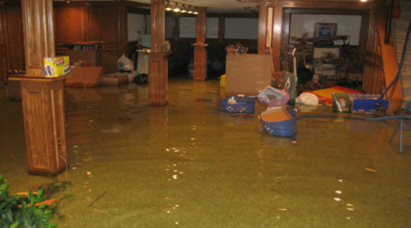 Basement flooding?